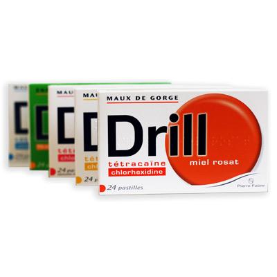 drill maux de gorge