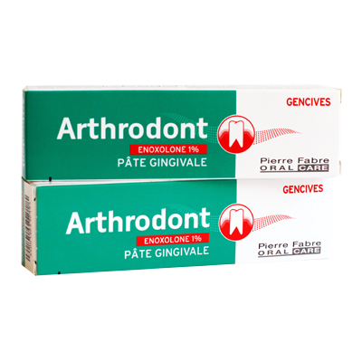 promo arthrodont dentifrice